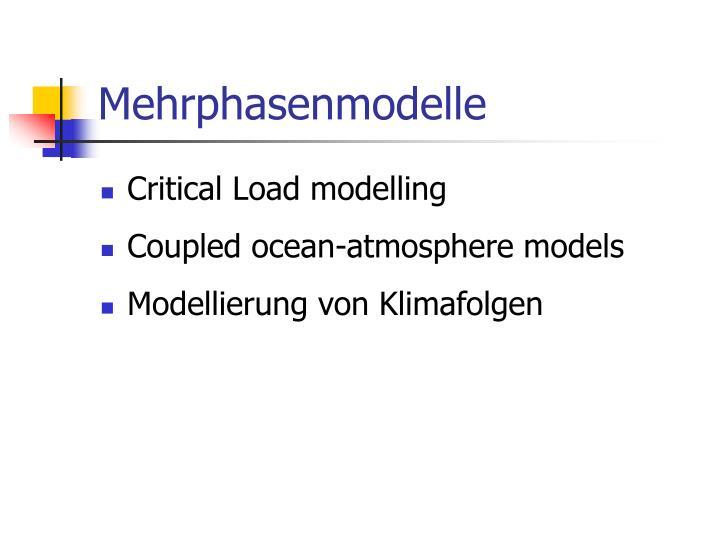 Mehrphasenmodelle
