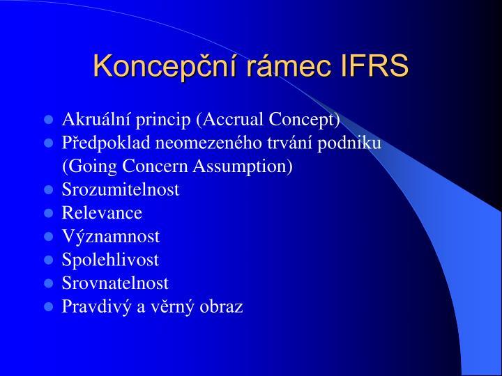 Koncepční rámec IFRS