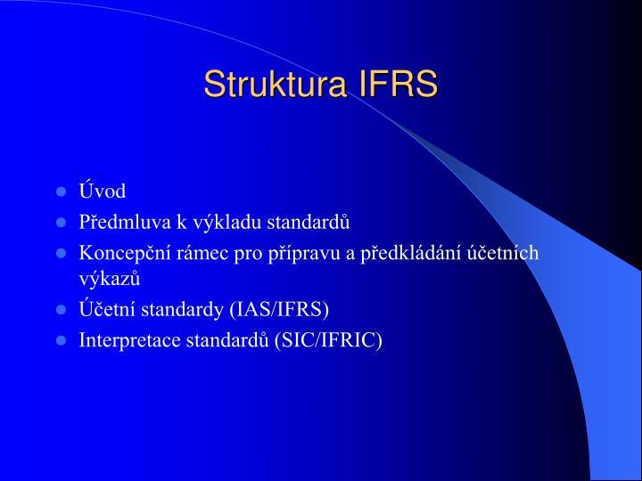 Struktura IFRS