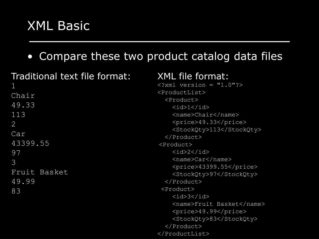 XML Basic