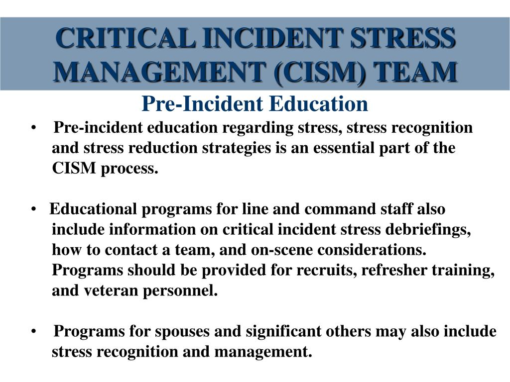 critical incident management Mcc's public safety offers many services to the college community including parking, lost & found, and safety & crime prevention.