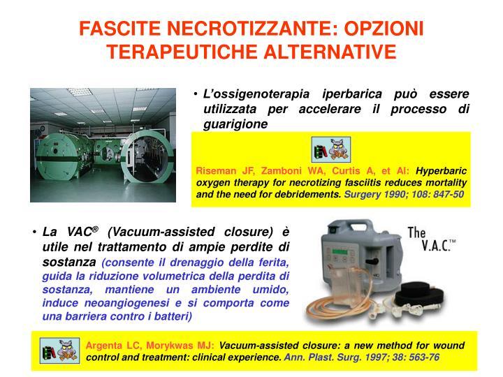 L'ossigenoterapia iperbarica può essere utilizzata per accelerare il processo di guarigione