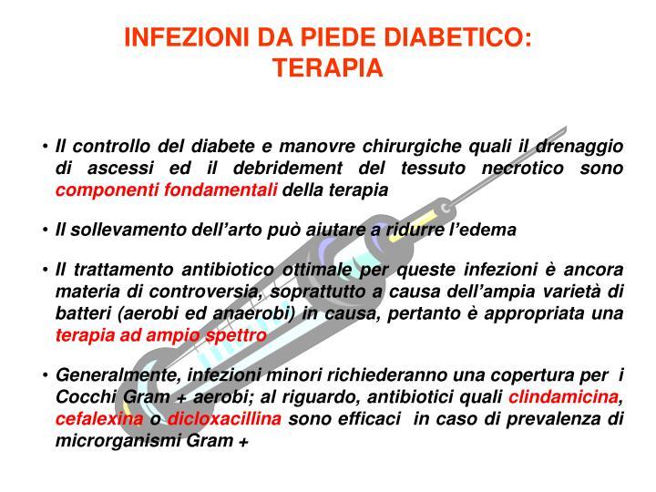 INFEZIONI DA PIEDE DIABETICO:
