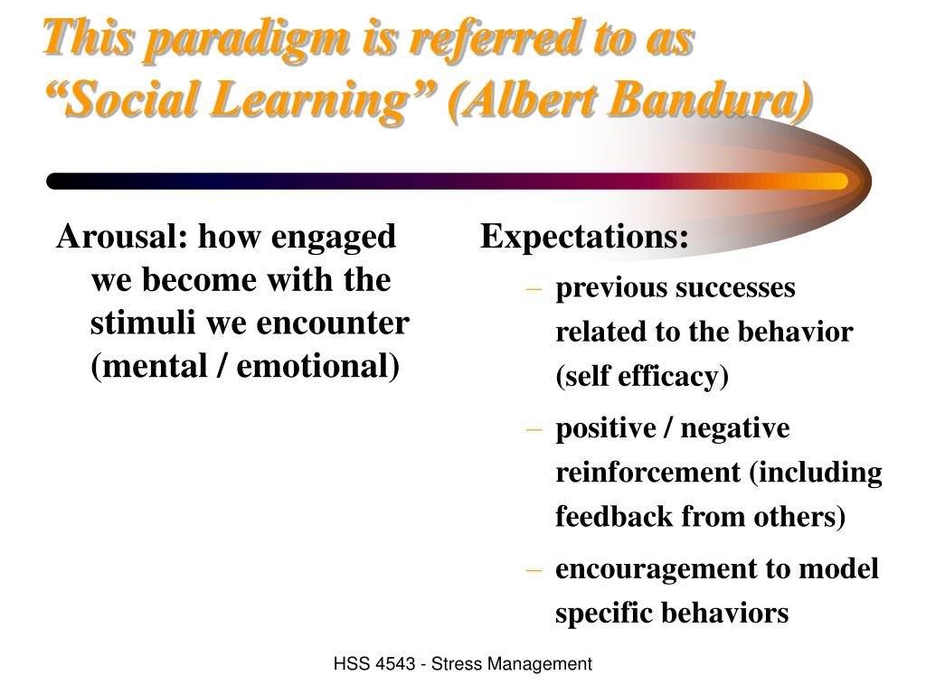Arousal: how engaged we become with the stimuli we encounter (mental / emotional)