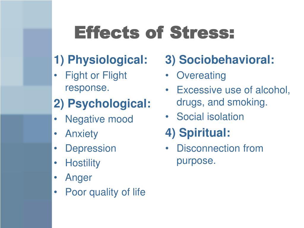 1) Physiological: