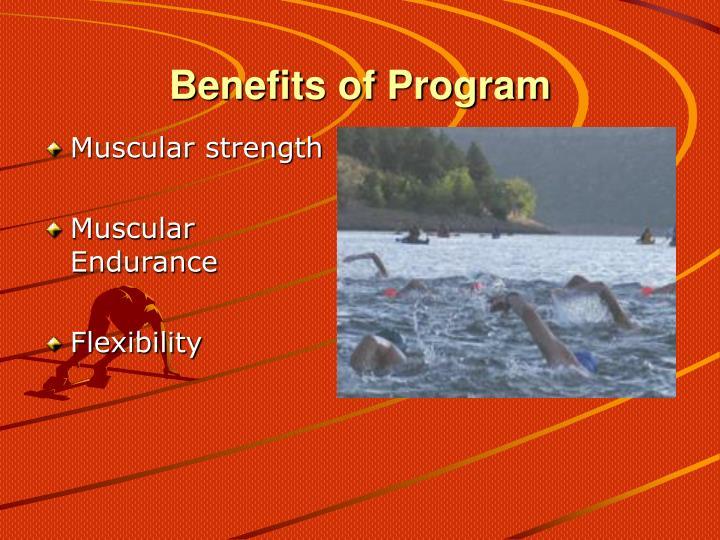 Benefits of Program