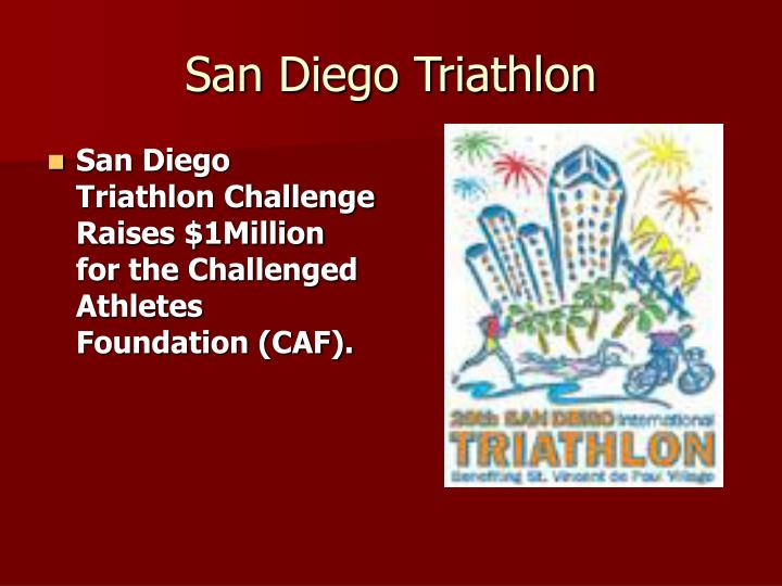 San Diego Triathlon