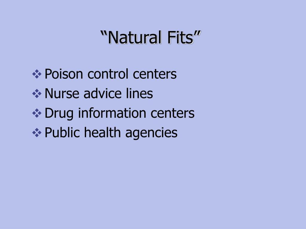 """Natural Fits"""