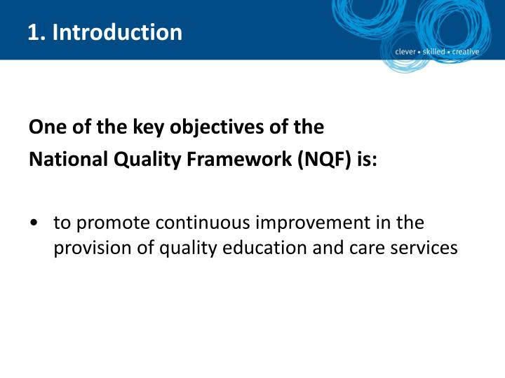 National quality framework self assessment and quality improvement planning podcast series 2