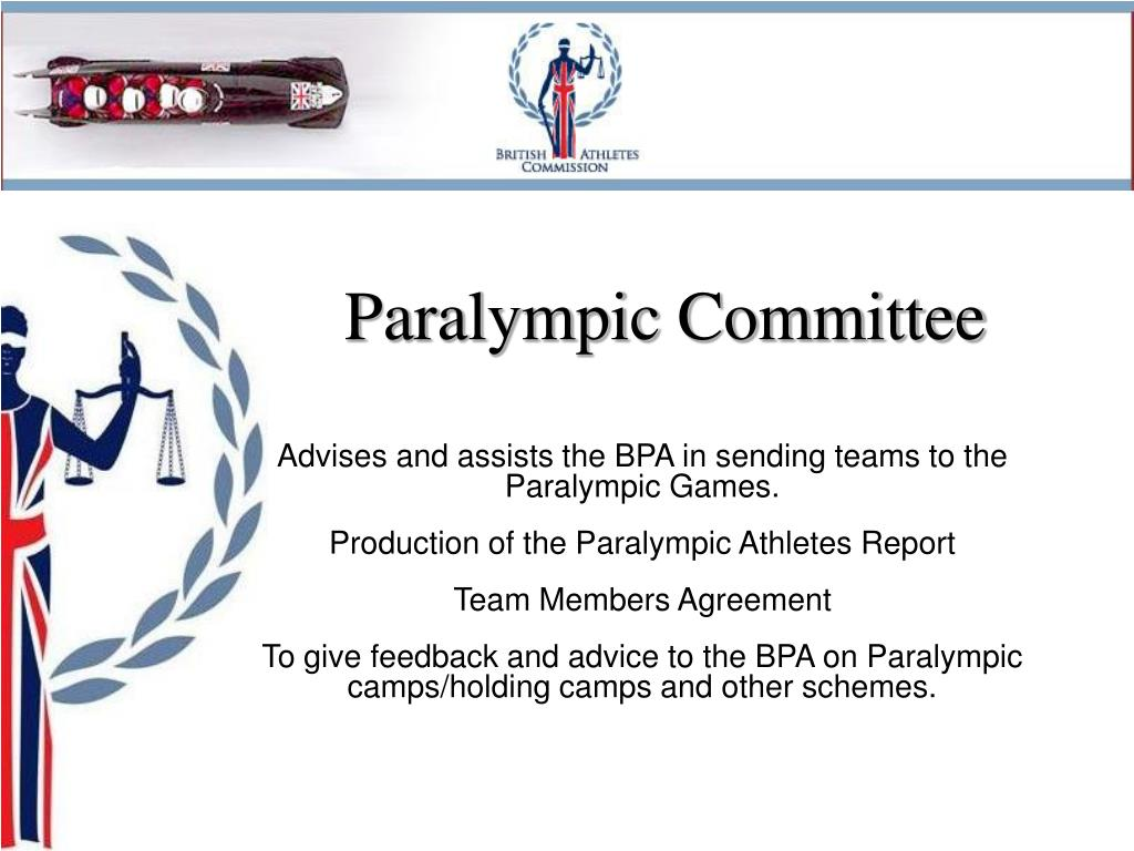 Paralympic Committee