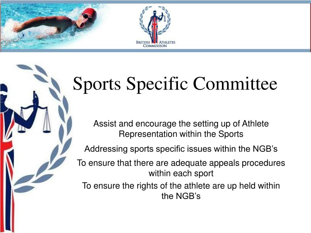 Sports Specific Committee