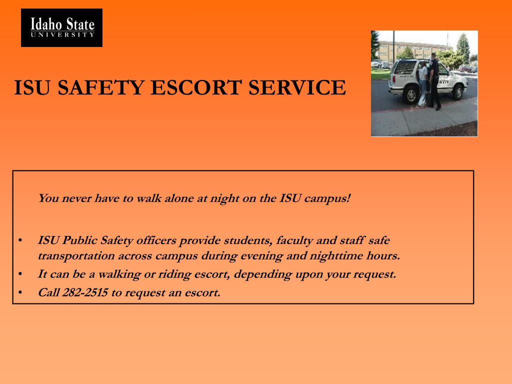 ISU SAFETY ESCORT SERVICE