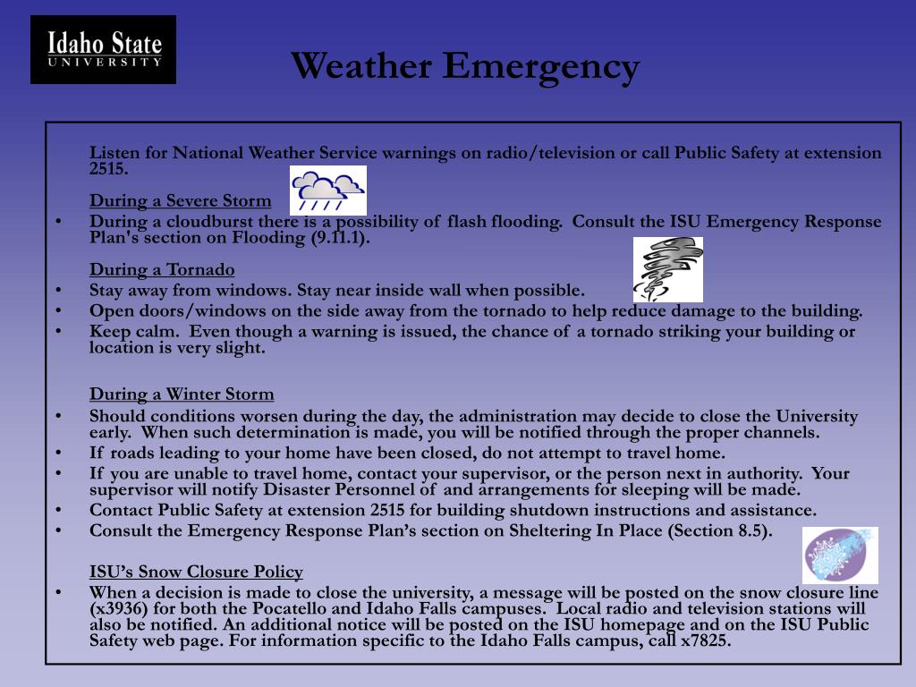 Weather Emergency