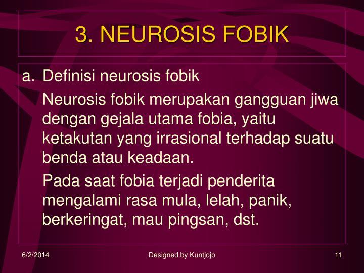 3. NEUROSIS FOBIK