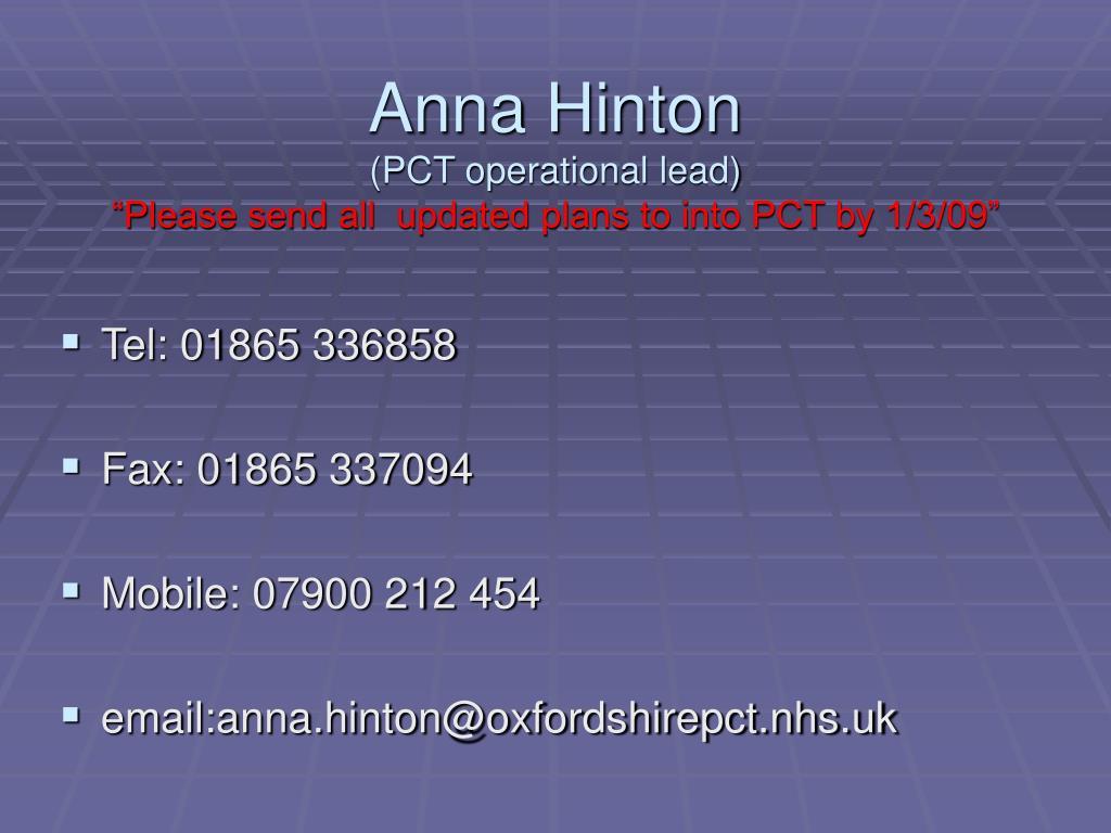 Anna Hinton