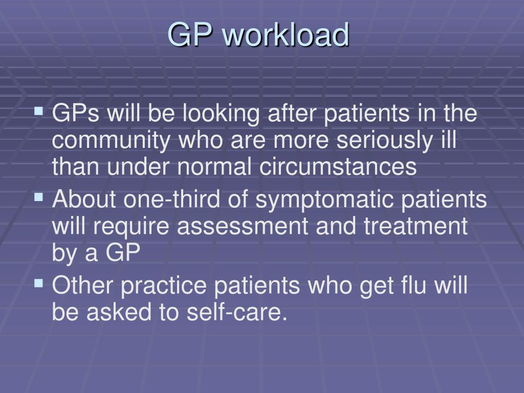 GP workload