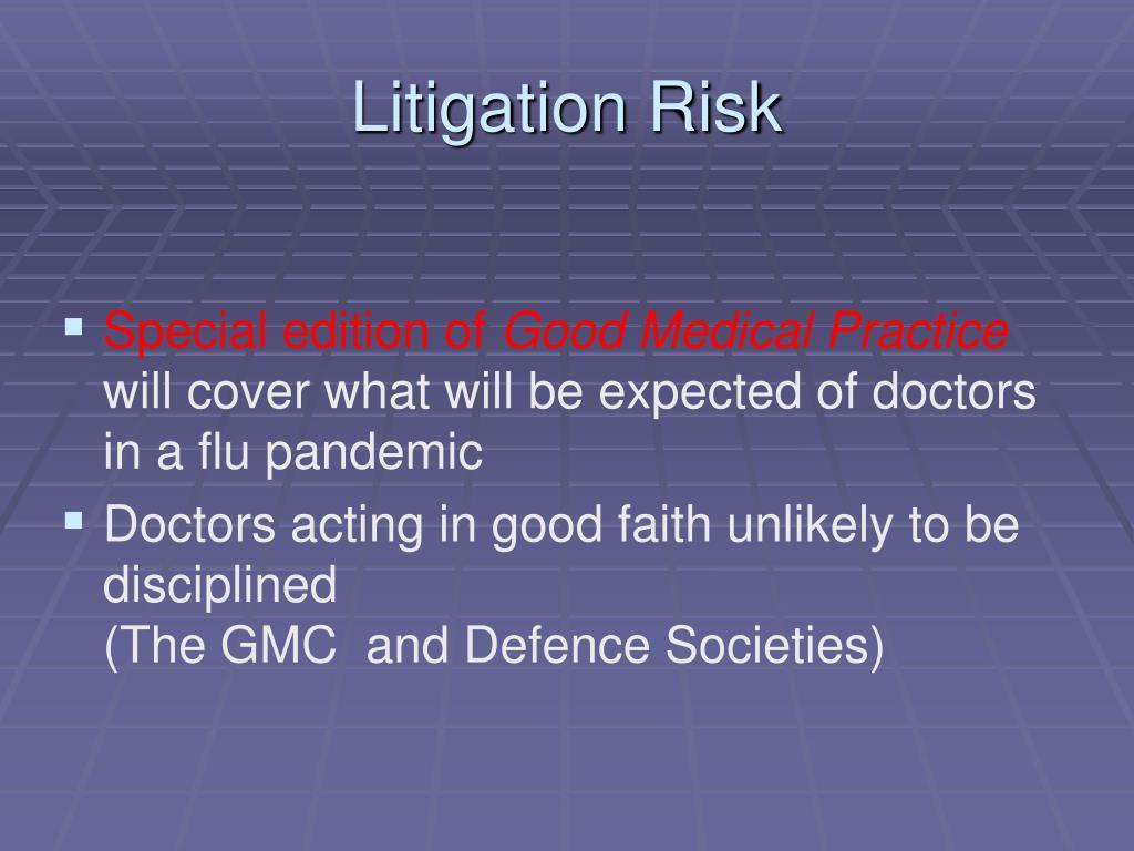Litigation Risk