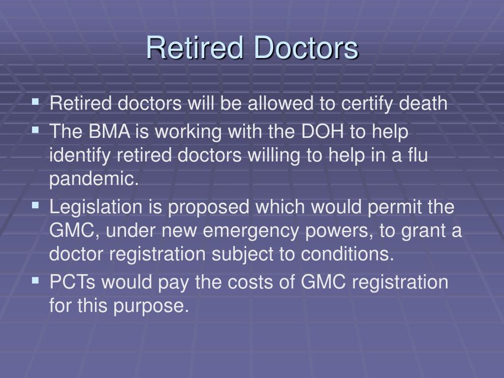 Retired Doctors