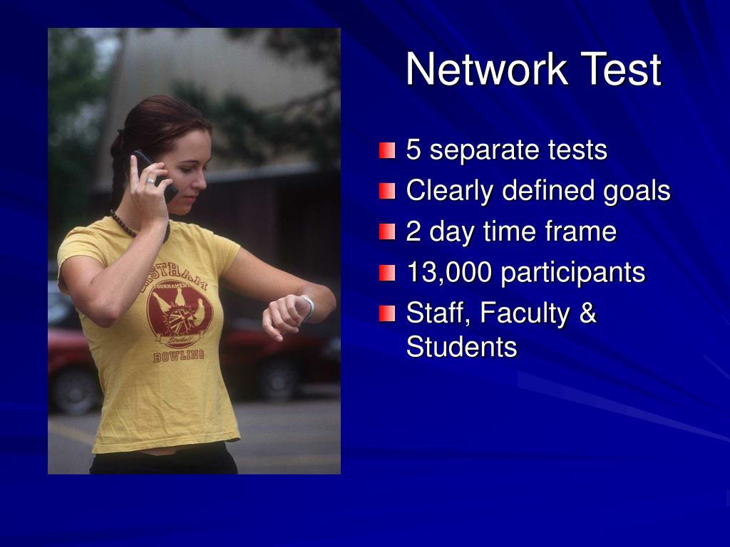 5 separate tests