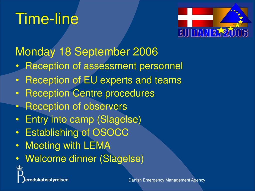 Monday 18 September 2006