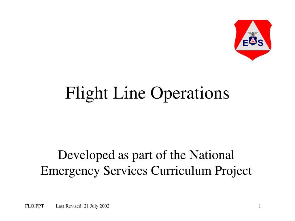 Flight Line Operations