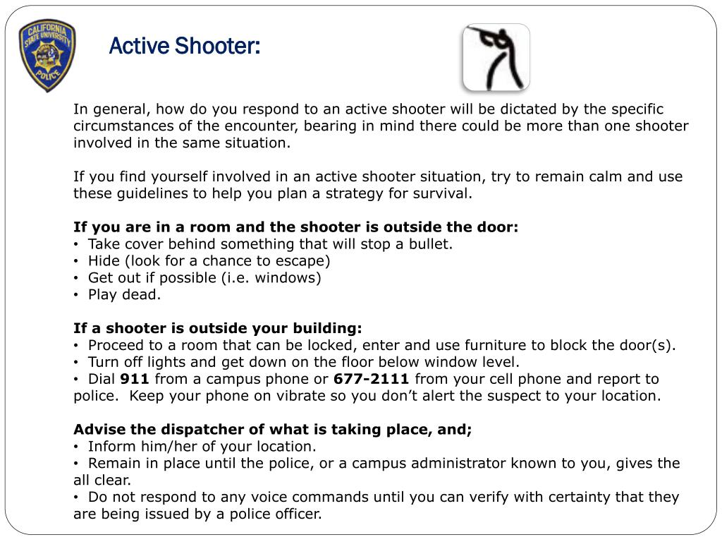 Active Shooter: