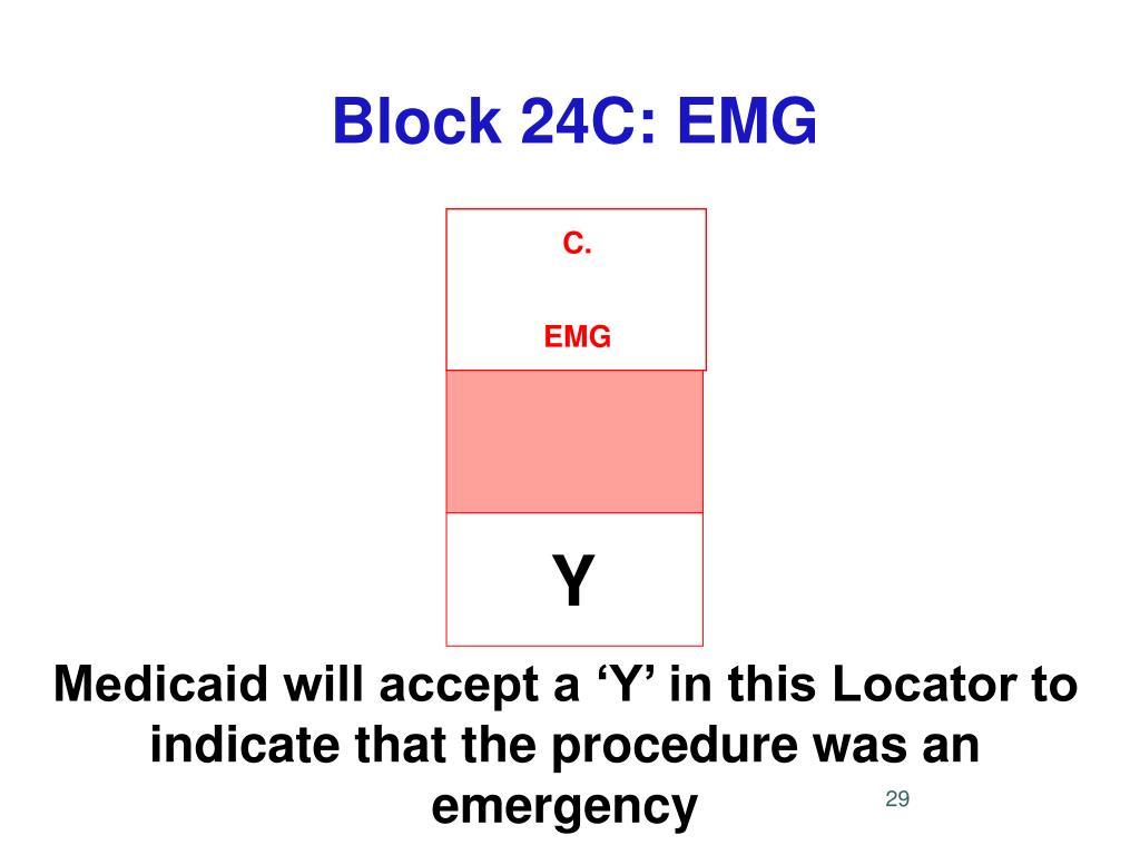 Block 24C: EMG