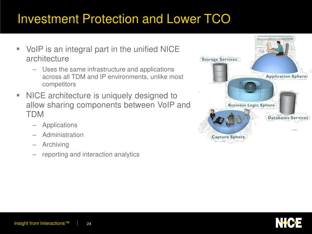 Investment Protection and Lower TCO