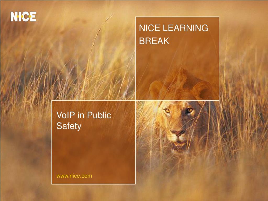 NICE LEARNING BREAK