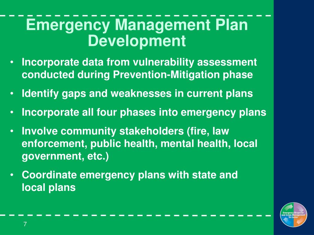 Emergency Management Plan