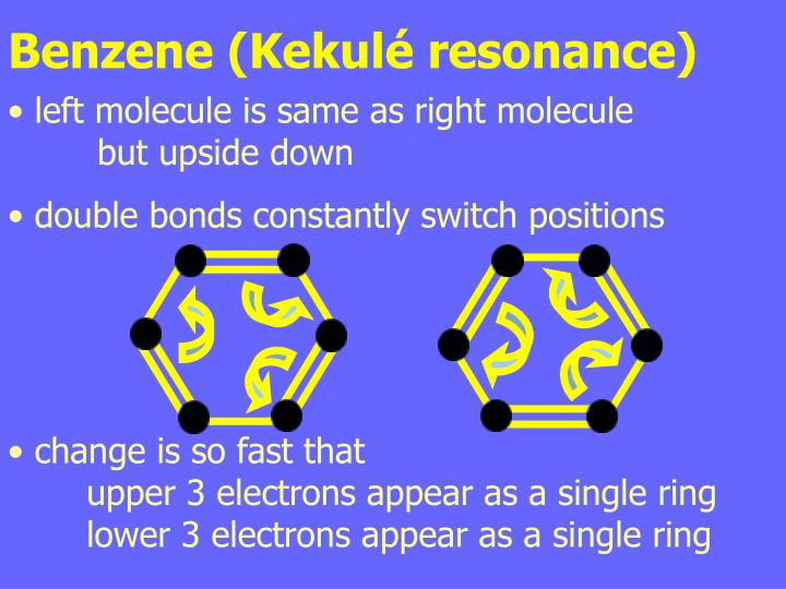 Benzene (Kekulé resonance)