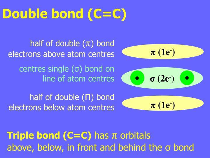 Double bond (C=C)
