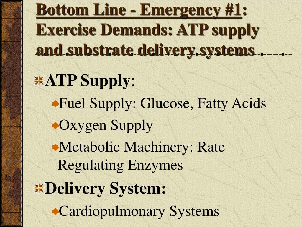 Bottom Line - Emergency #1
