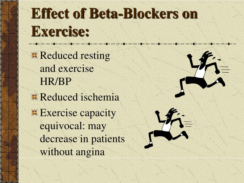 Effect of Beta-Blockers on Exercise: