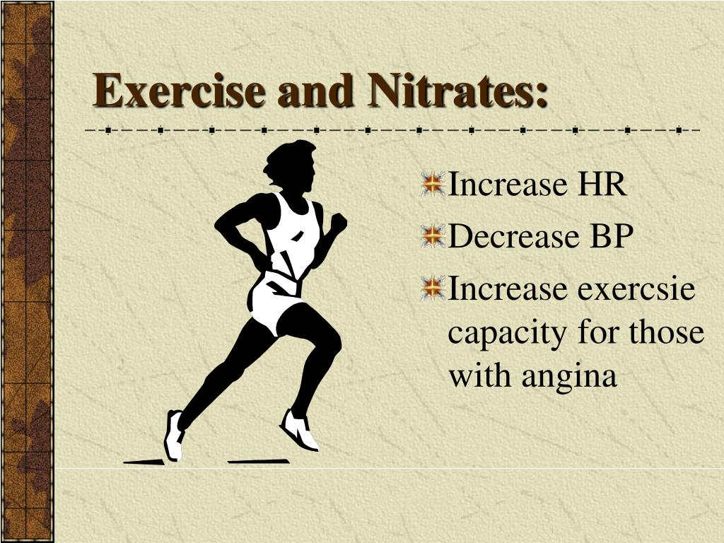 Exercise and Nitrates: