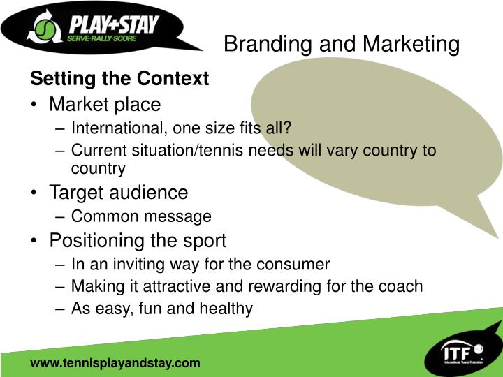 Branding and Marketing