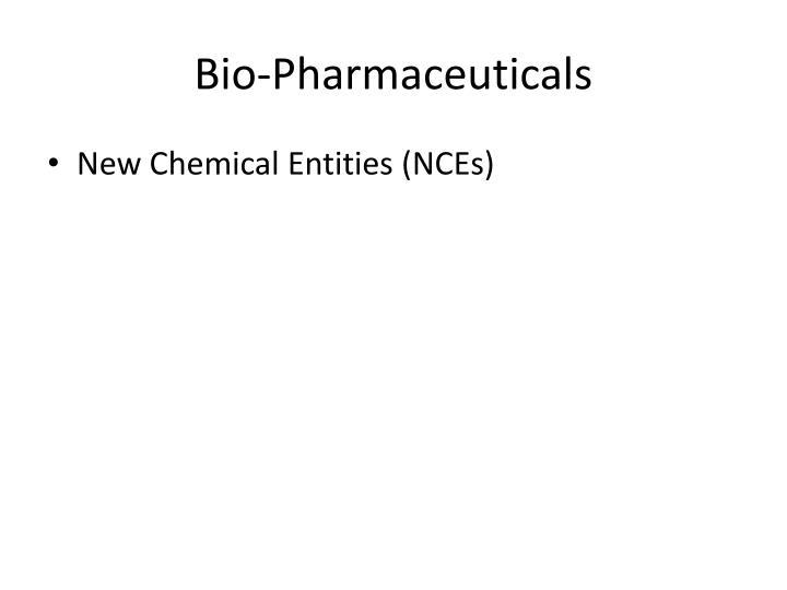 Bio-Pharmaceuticals