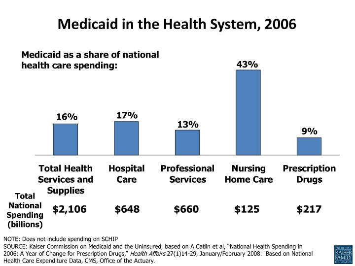 Medicaid in the Health System, 2006