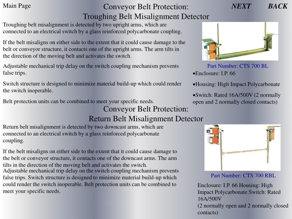 Conveyor Belt Protection:
