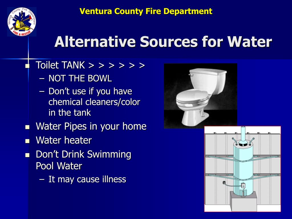 Alternative Sources for Water