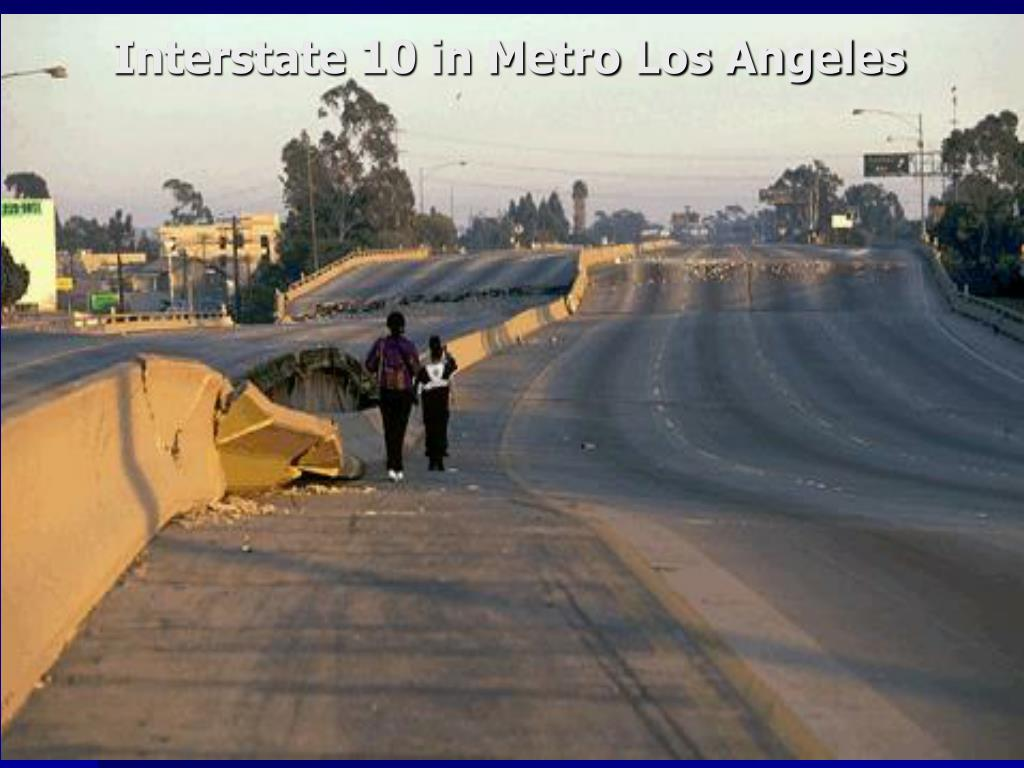 Interstate 10 in Metro Los Angeles