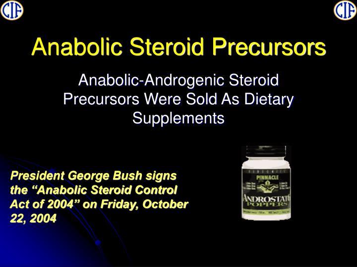 Anabolic Steroid Precursors