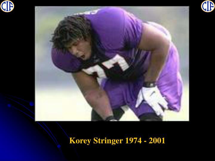 Korey Stringer 1974 - 2001