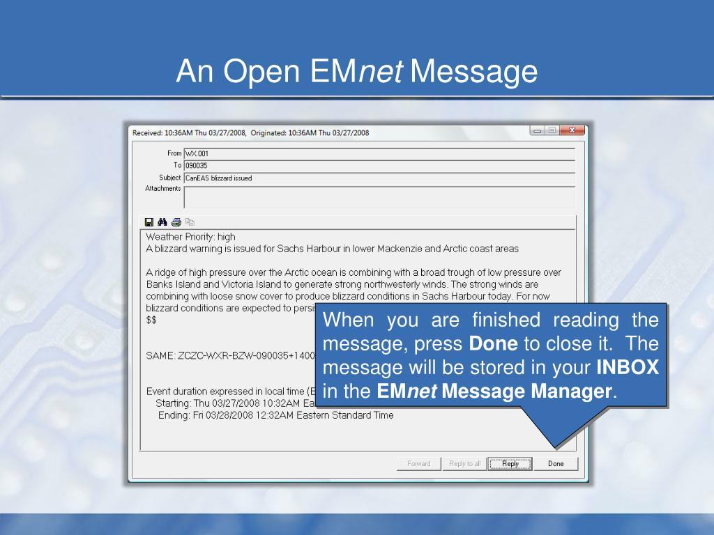 An Open EM