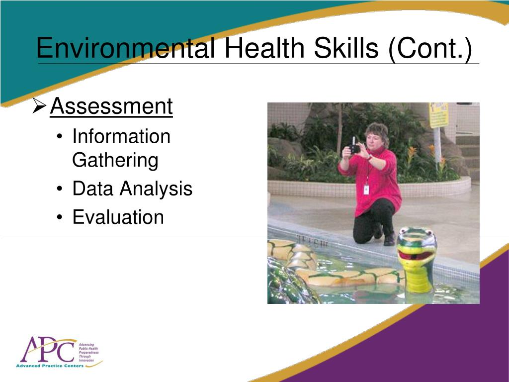 Environmental Health Skills (Cont.)
