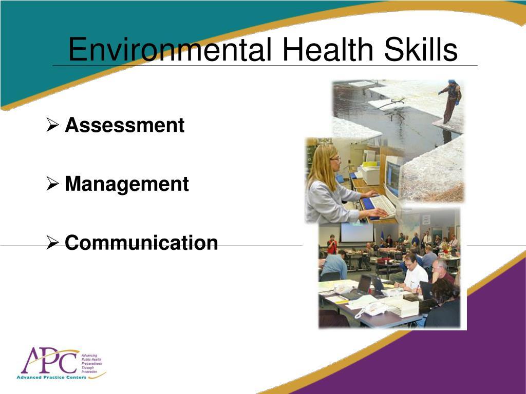 Environmental Health Skills