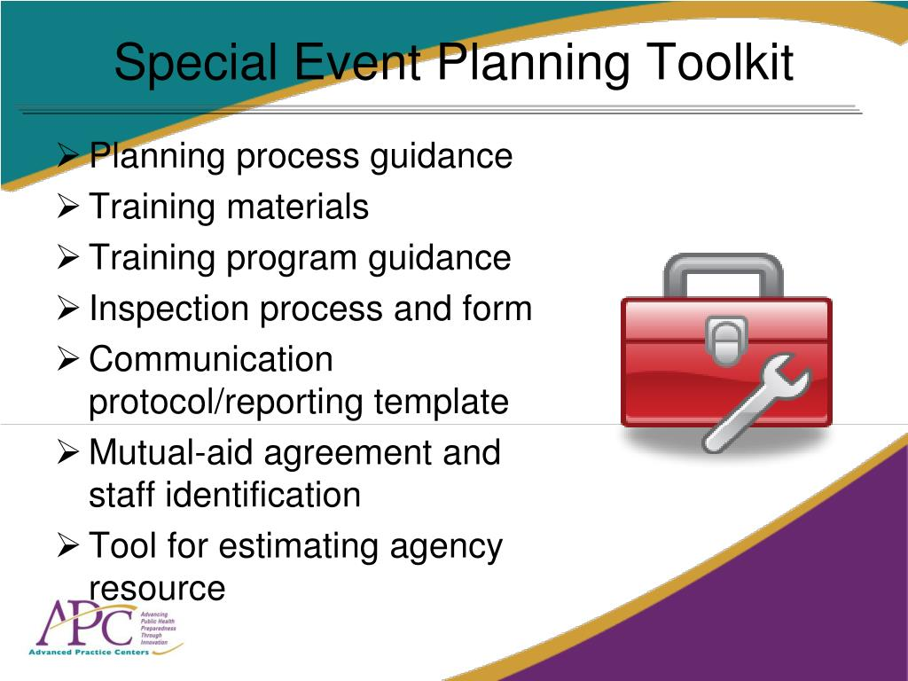Special Event Planning Toolkit