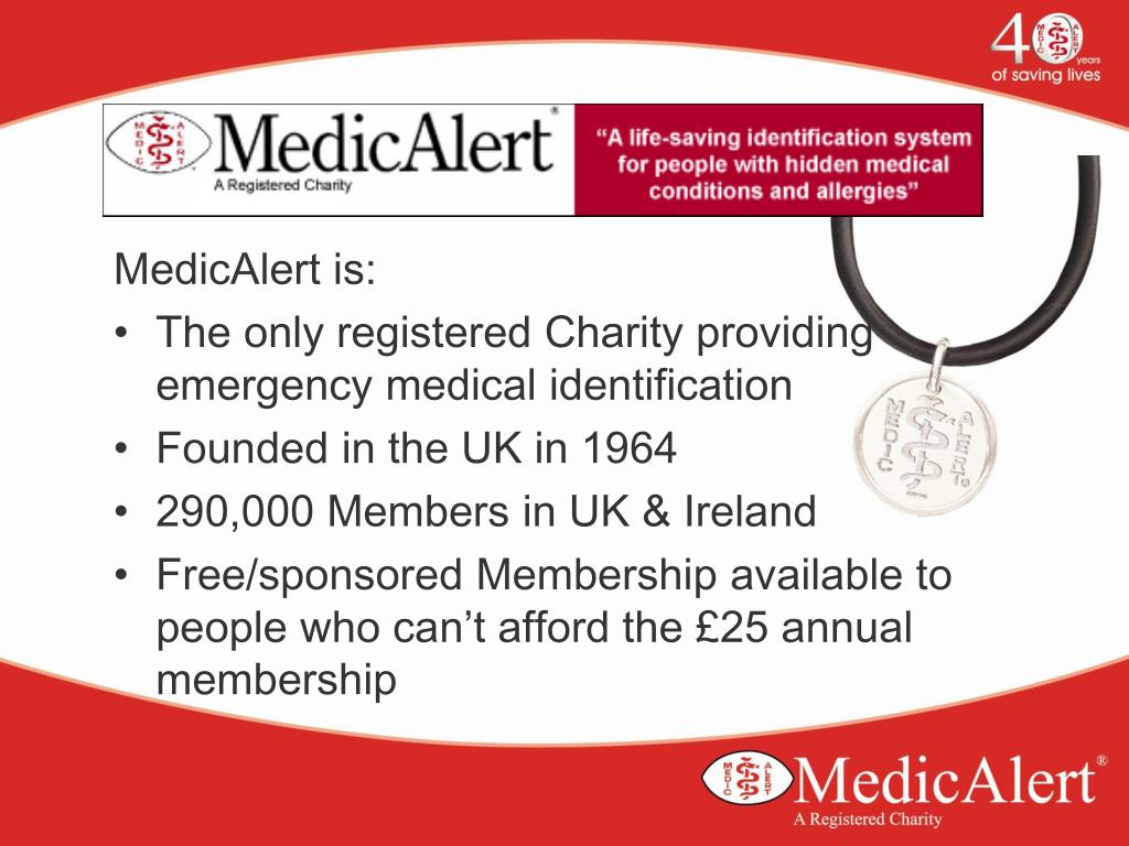 MedicAlert is: