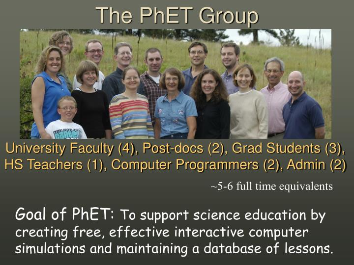 The phet group