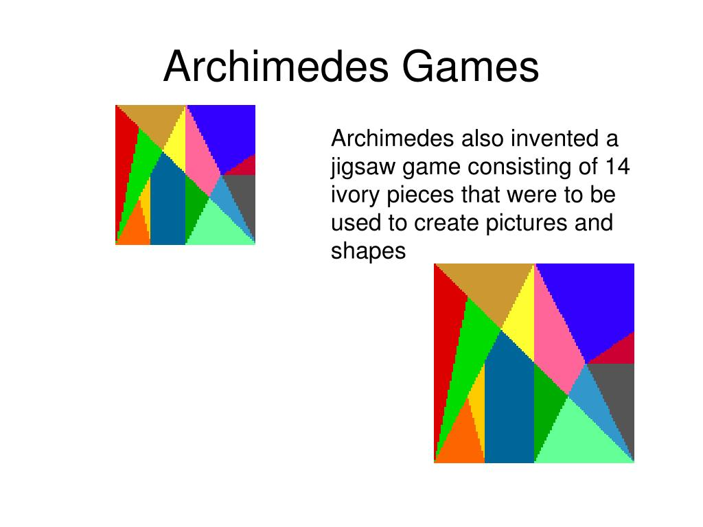 Archimedes Games